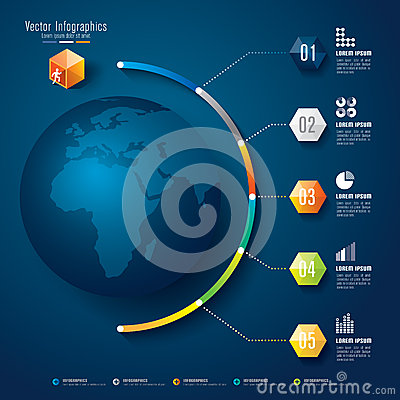Free Abstract 3D Digital Illustration Infographic. Stock Photography - 38924282