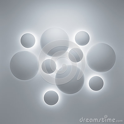 Free Abstract 3d Geometric Background Stock Photography - 34267362
