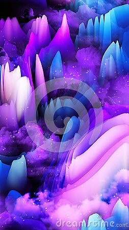 Free Abstract 3d Waves Background - 8K Resolution Royalty Free Stock Photos - 103558538