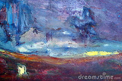 Abstract acrilic background