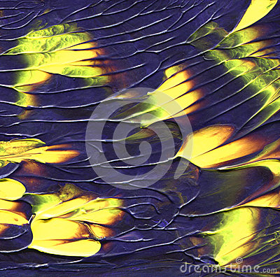 Free Abstract Acrylic Background. Creative Mixed Painting Texture With Yellow Plots. Unique Art. Royalty Free Stock Photo - 66600325