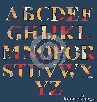 Abstract Alphabet Set