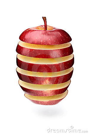 Free Abstract Apple Slices Stock Photos - 9765723