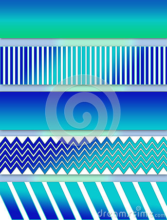 Free Abstract Aqua Blues Illustration In Layers Stock Photography - 65777842