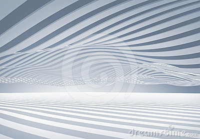 Abstract Architecture Wave Stripes Background Royalty Free Stock Photos - Image: 24471728