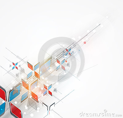 Free Abstract Arrow Computer Technology Business Solution Royalty Free Stock Images - 32008539