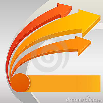 Free Abstract Arrows Royalty Free Stock Photo - 19293905