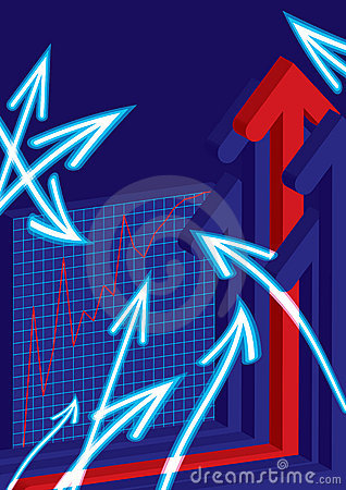 Abstract Arrows Business Graph_eps
