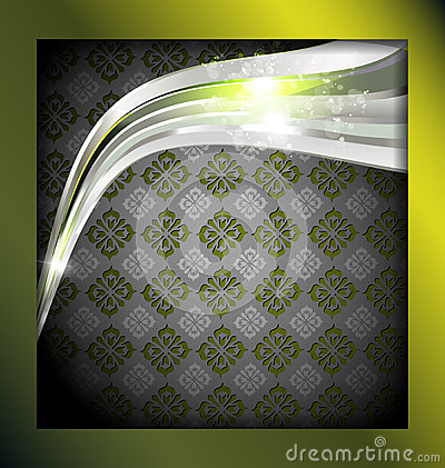 Abstract art frame background