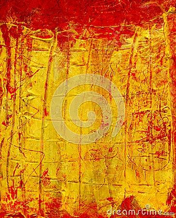 Abstract art-impasto