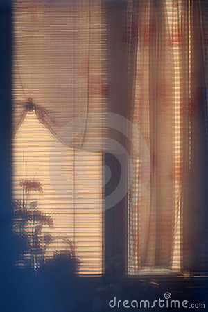Abstract art photo of a window