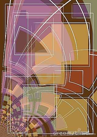 Abstract Art Shapes Lines