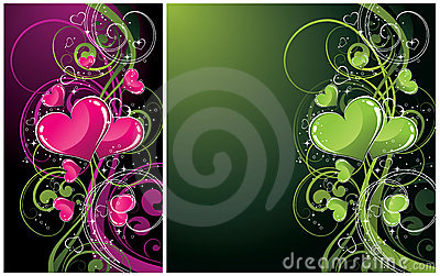 Abstract artistic backgrounds