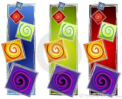 Abstract Artistic Spirals 2 Royalty Free Stock Images - Image: 3416969