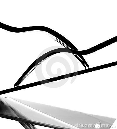 Abstract B&W Background Design