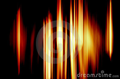 Abstract Background - Blazing Fire