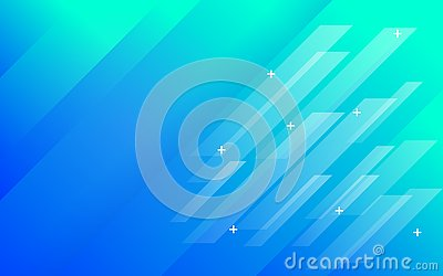 Abstract background blue green gradient with panels Stock Photo
