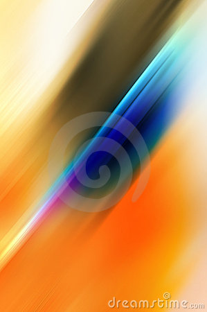 Abstract background in blue and orange tones