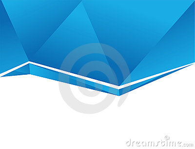 Abstract background blue - vector