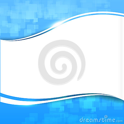 Free Abstract Background Blue Wave Curve And Lighting Element Vector Royalty Free Stock Photos - 56062558