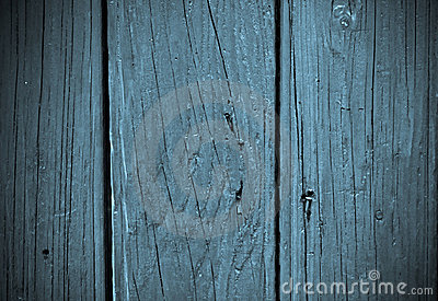Abstract background - blue wood