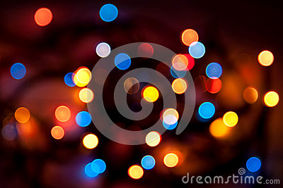 Abstract background - blurred colorful circles bok