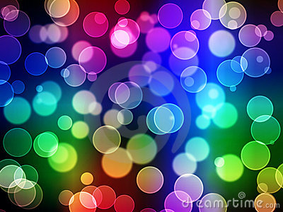Abstract background - blurry lights