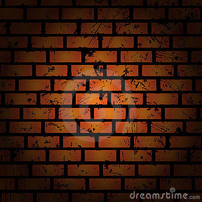 Abstract background. Brick wall