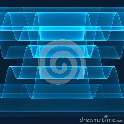 Free Abstract Background. Bright Blue Stripes On The Dark Blue Background. Geometric Pattern In Blue Colors. Royalty Free Stock Photo - 49308055