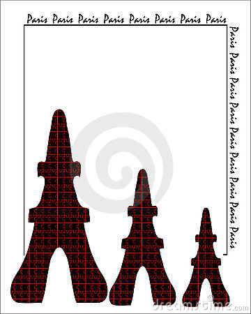 Abstract background. Card. Paris