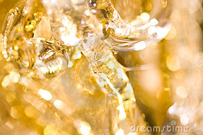 Abstract background of christmas decoration