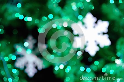 Abstract background christmas tree.