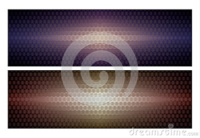 Abstract background circle