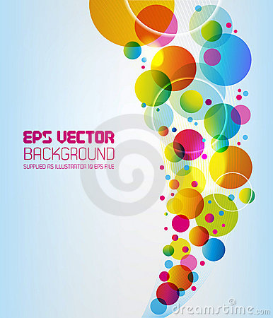 Free Abstract Background - Circles Stock Photos - 15474873