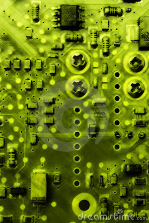 Abstract background of circuit board