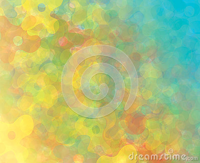 Abstract background-flowers.