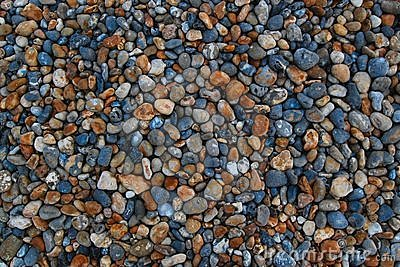 Abstract background of colorful small stones
