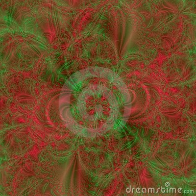 Abstract background design in Holiday green and red