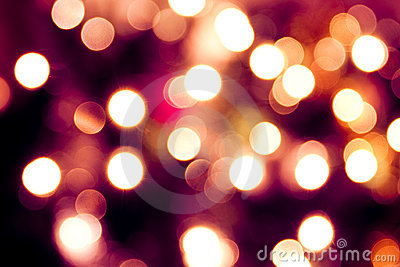 Abstract background of lights. Violet tint