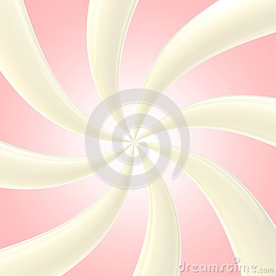 Abstract background made of glossy twirls