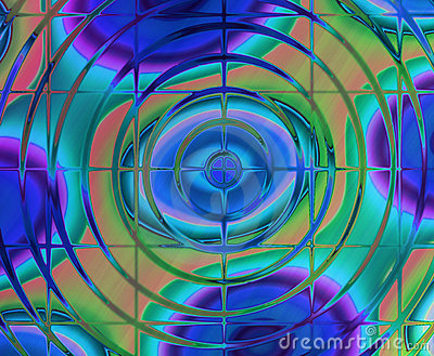Abstract background of magic burst