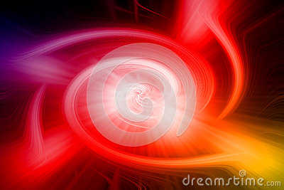 Abstract background with magic storm lighting