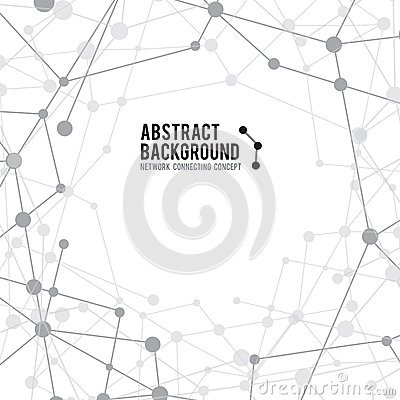 Free Abstract Background Network Connect Concept - Vector Illustration 001 Stock Photography - 55756102