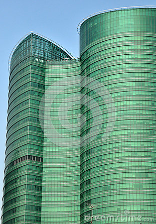 Free Abstract Background Of Modern Glass Building Stock Photo - 34751110