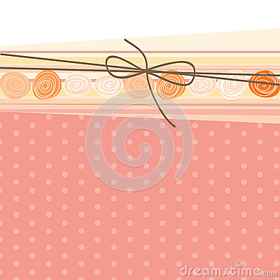 Abstract background, package, bow