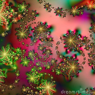 Abstract Background pattern in Christmas Holiday Colors