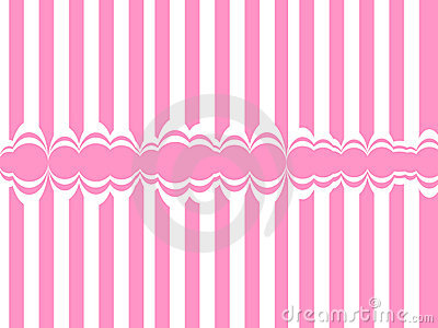 Abstract background with pink lines