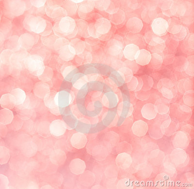 Abstract background of pink or red lights