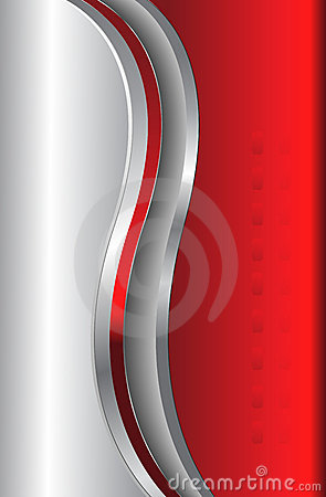 Abstract background red metallic