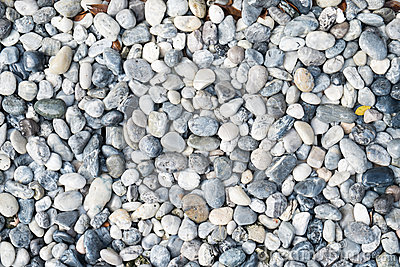 Abstract background of round peeble stones